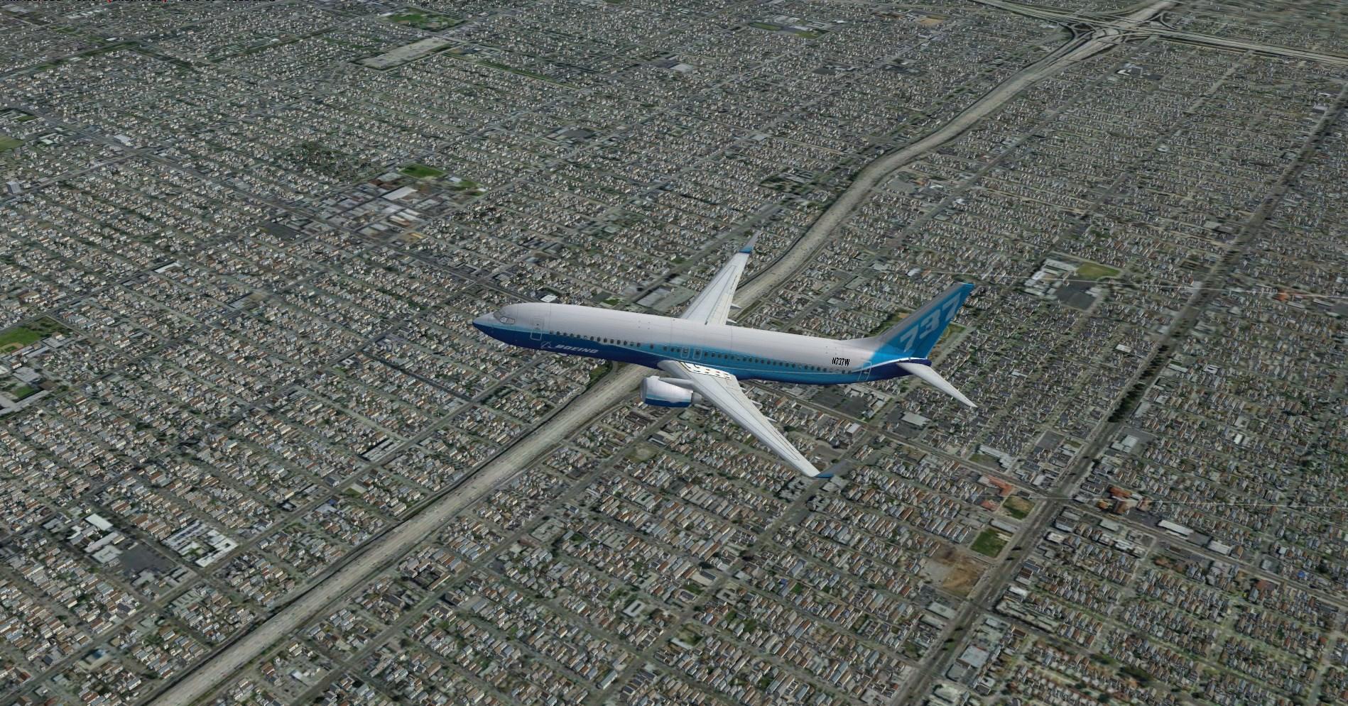 Realworld Scenery – CALIFORNIA 3D ENVIRONMENT for FSX-P3D,V 1-4-FSXSE